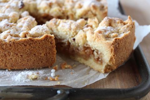 Urdinkel Apfel Streuselkuchen Ig Dinkel Das Wertvollste Getreide